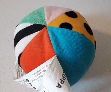 Πολύχρωμη μαλακή μπάλα ( κουδουνίστρα )ΙΚΕΑ  Σε άριστη κατάσταση