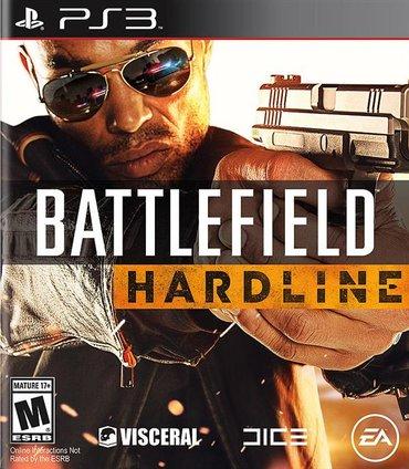 """Bakı şəhərində """"battlefield hardline"""" ps3 oyun diski"""