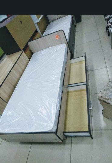 Односпальные кровать с матрасом в Бишкек