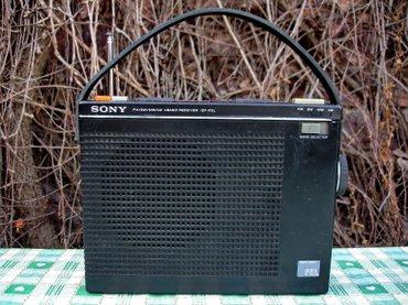 Stari japanski radio tranzistor sa 4 talasne dužine poznatog - Novi Sad