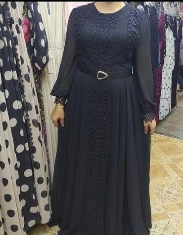 Личные вещи - Дмитриевка: Турецкое платье 42 размер( 48наш) цена платья 7000тыс . одета один