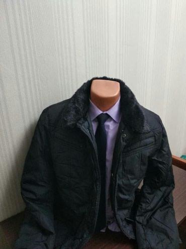 Мужская куртка С меховым воротником Размер 48-50-52 в Бишкек