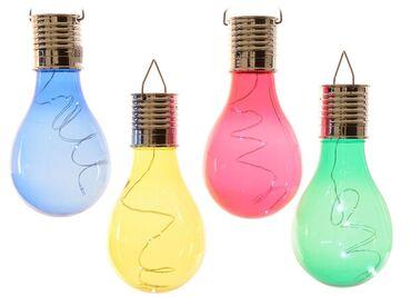 Solarna lampa mini.  LED solarna lampa je dobar način stvaranja čarob