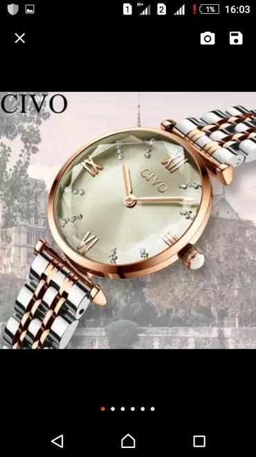 Qol saatları Xudatda: Qadin saati zakazla