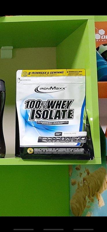 İdman qidaları Azərbaycanda: Whey Isolyate Ironmaxx Almaniya