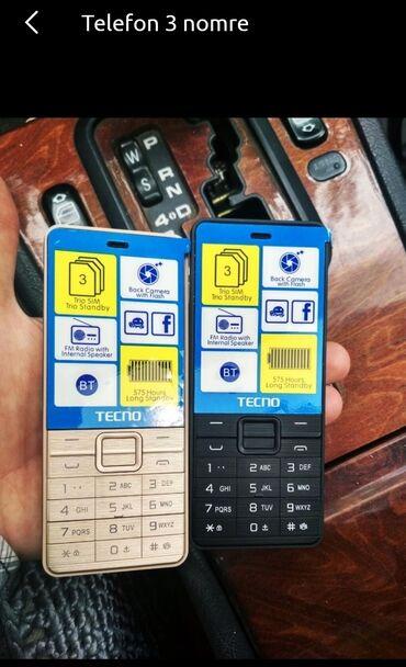 Asus telefonlari - Azərbaycan: Noki Tecno telefonlari 3 nomre Teze karopkada qeydiyyatli chatdirilma