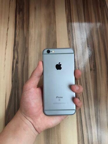 Электроника - Бишкек: IPhone 6s | 32 ГБ | Серый (Space Gray) | Б/У | Гарантия, Отпечаток пальца