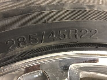 глобал шина в Кыргызстан: Прод диск с резин комп отл сост R 285/45/22