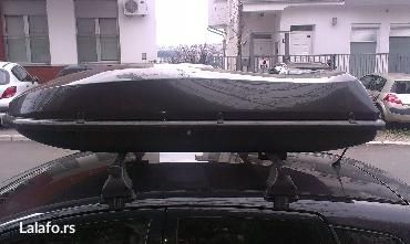 Iznajmljujem krovni kofer cam 435 airtek, zapremine 430 litara. - Beograd - slika 3