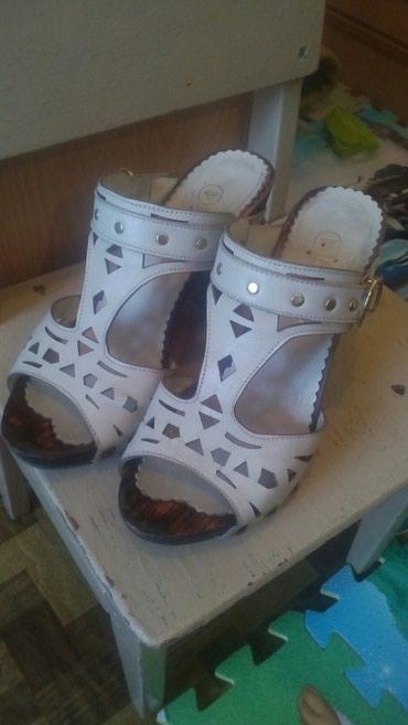 Обувь б/у. натуральная кожа. в Лебединовка
