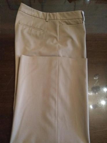 женские брюки с высокой посадкой в Азербайджан: Брюки женские длина брюк 96см 69/%полуэстр 25/% вискоза 6/% эластан