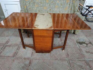mebel dlya prikhozhei - Azərbaycan: Stol satılır, açılıb-yığılandır, mebel rəngdədir.Uzunluğu 165 sm, eni