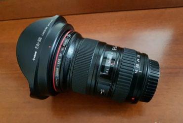Qusar şəhərində Canon f2.8 16-35 L ll ela veziyyetde.Bu furset hemise ele