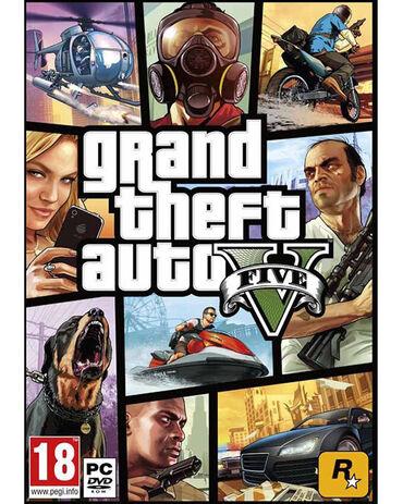 Sport i hobi - Razanj: GTA 5 pc - igrica za pcProdajem igricu GTA 5 za pc.Igrica je nova