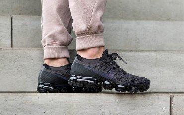butsy firmennye nike в Кыргызстан: Продаю кросовки Nike Air Vapormax Flyknit Triple Black Grey размер us