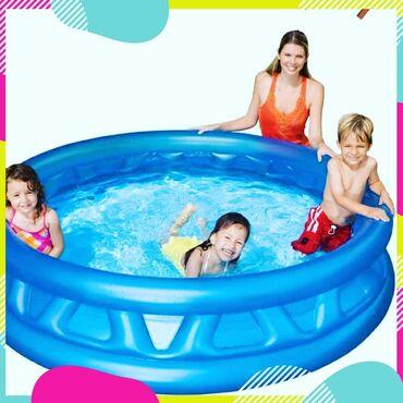 Надувные-бассейны-для-детей - Кыргызстан: Бассейны 3,о5 м 1,83м высота 56см. для детей дети до 16лет