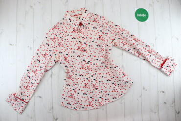 Жіноча сорочка з принтом серденьки Bibikova    Довжина: 71 см Ширина п