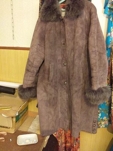 летнее платье 58 размера в Кыргызстан: Продаю очень дёшево дублёнка размер 58-60р 2000с платье 1500с размер