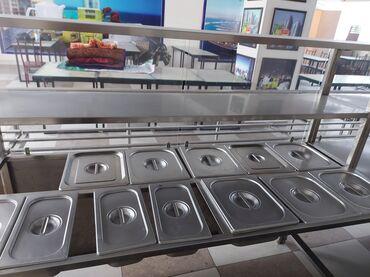 нержавейка столы в Кыргызстан: Продаю в связи закрытием оборудование для столовойЛиния раздачи из