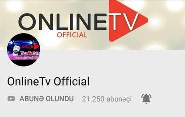 Bakı şəhərində YouTube Kanalı Satılır