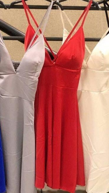 Crvena haljina kao nova jednom nošena. odg S/M velicini - Crvenka