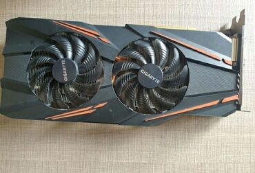 Видеокарта Gigabyte GeForce GTX 1070 windforce 8gbУстановлены
