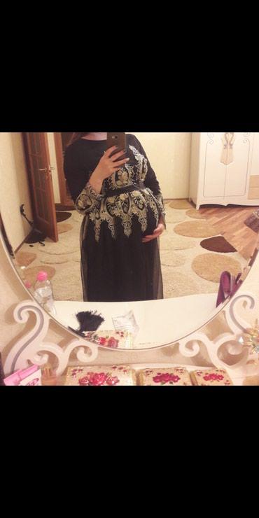 Платье для беременных, сзади на шнуровке и на замочке, размер 44-48 в Бишкек
