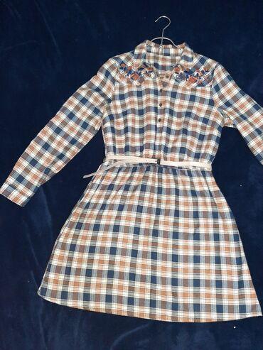 Детский мир - Майлуу-Суу: Туника Рубашка Турция М- L теплый мягкий кашемировый ткань