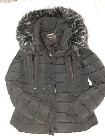 Nova zenska jakna sa krznom koji se skida S velicina