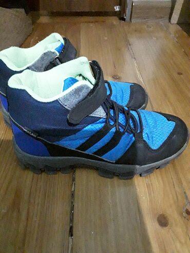 Деми сезонные ботинки на мальчика. Размер 32. Одевали только один сезо