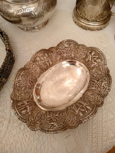 работа ювелиром в Азербайджан: Qədimi gümüş külqabıÇox nadir tapılan,84 əyyarlı qədimi gümüş