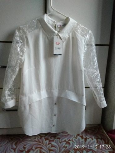 женская-блуза в Кыргызстан: Женская блузка новая с этикеткой производство Турция