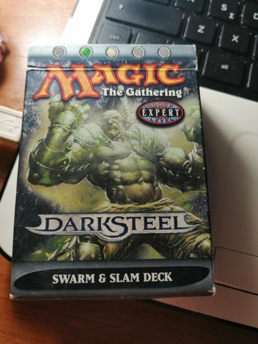 Magic The Gathering Expert Level Deck. 72 cards included. 48 forest