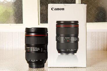 Samsung galaxy s4 zoom teze qiymeti - Azərbaycan: Canon Zoom lens EF 24-105 F4 1:4 L IS II USM (2ci versiya) ideal vəziy