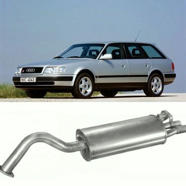 audi a6 27 mt в Кыргызстан: Глушитель Audi c4 a6  объем 2.6 2.8.  производство Польша