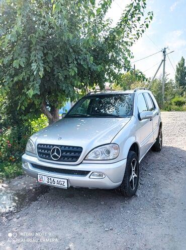 Mercedes-Benz - Кант: Mercedes-Benz ML 270 2.7 л. 2002 | 269623 км