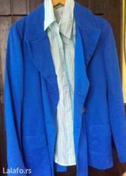 H-m-keper-haljinatroakove-slanja-snosi-kupac - Srbija: Plava jaknica. Keper 40