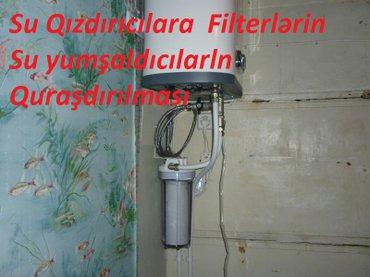 ремонт водонагревателей - Azərbaycan: Установка и ремонт проточных водонагревателей-установка