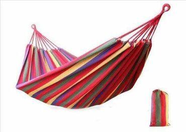 Barska-stolica - Srbija: Ležaljka za odmor izrađena od pamuka. Dimenzije mreže 200x100 cm