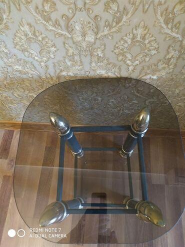 zapchasti na ford focus в Азербайджан: Shuseli stol satilir. Cay stolu. Awagisinda ve yuxarisinda shushe