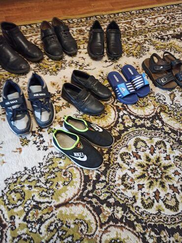 Продаю детскую обувь на мальчика б/у. От 50-300 сом. Размеры от 30-33