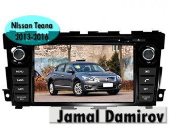 Bakı şəhərində Nissan teana 2013-2016 üçün dvd- monitor. Dvd- монитор