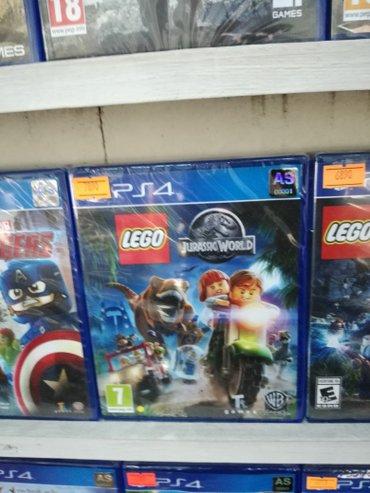 Bakı şəhərində Lego Jurassic park