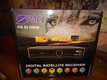 Bakı şəhərində Tuner model Space fta55HD mpeg 4