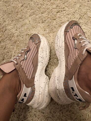 Kozne cipele - Srbija: Zenske patike broj 38. Patike su kozne. Turska proizvodnja. U odlicnom