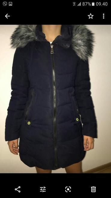 Jakna sa - Srbija: Zenska zimska jakna sa krznom veoma topla