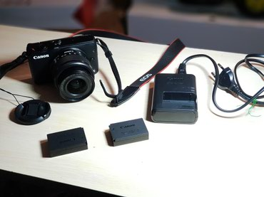 Canon eos M10 EF-M 15-45 is stm kit в Муксу