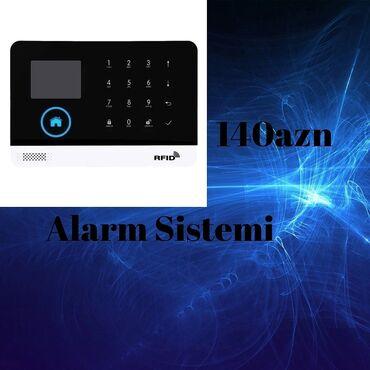 221 elan: Alarm sistemi tam yenidir,mağazadir,pulsuz çatdirilmada var Qiymet:140
