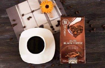 элитный горячий шоколад sr в Кыргызстан: Элитный черный кофе с кордицепсом от компании Smart&Rich