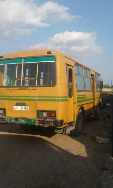 Salyan şəhərində Paz avtobusu